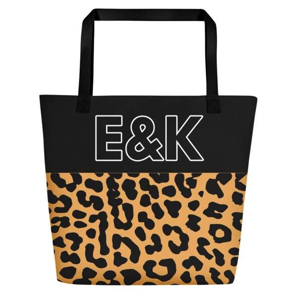Leopard Beach Bag