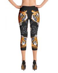 4520bbc396c071 Printful Kaleidoscopic Capri Leggings | Women's Fashion Clothing
